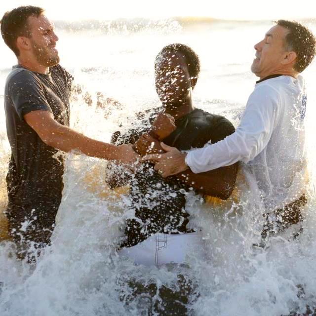 Larry Baptizing