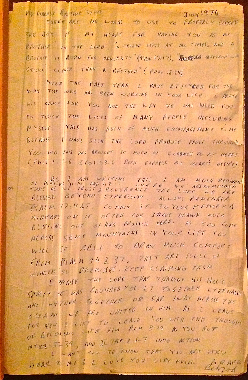 Behzads Bible Note